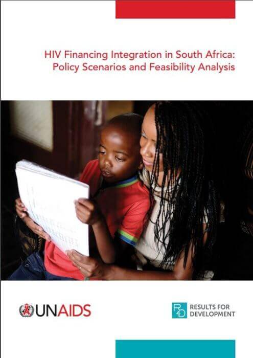 HIV Financing Integration South Africa report