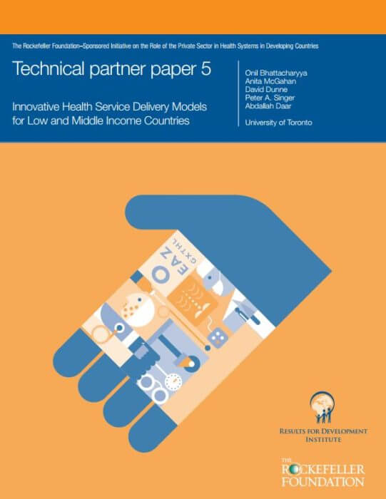 Innovative Health Service Delivery Models LMICs - Technical Paper