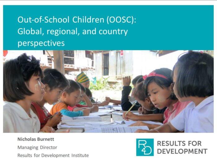 OOSC - Global, regional, and country perspectives