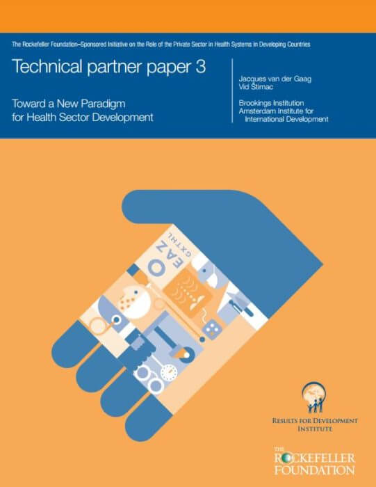 Toward a New Paradigm of Health Sector Development