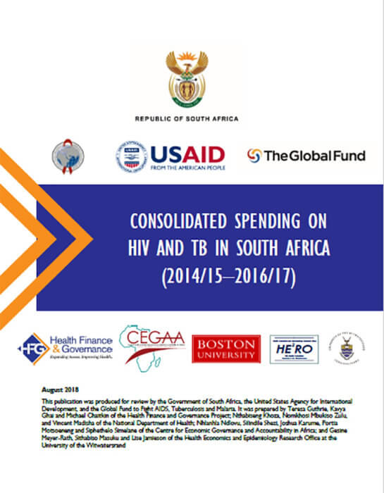 South Africa HIV and TB Expenditure Review