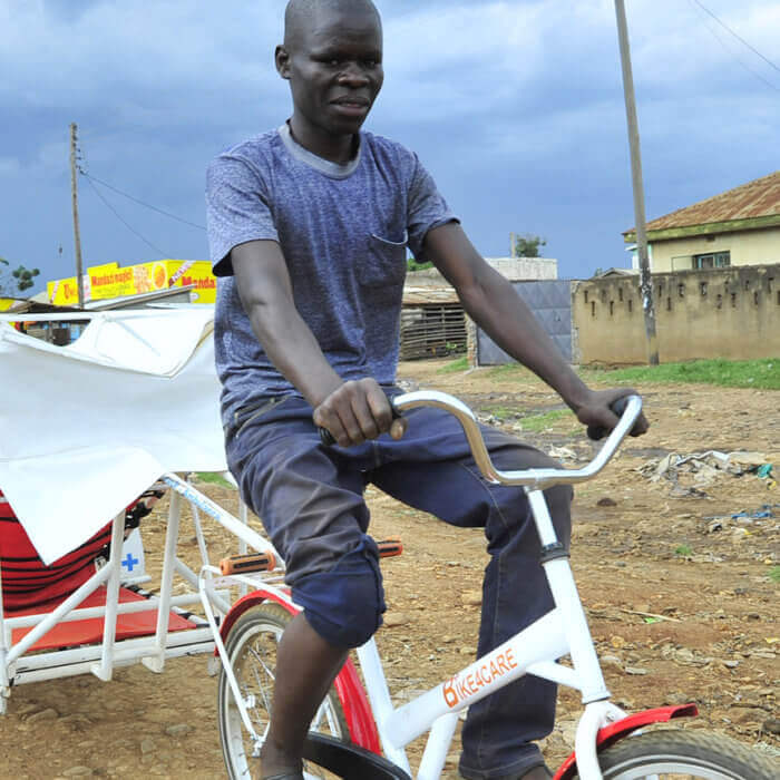 Photo: CooP-Africa Bike4Care